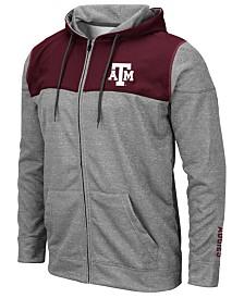 Colosseum Men's Texas A&M Aggies Nelson Full-Zip Hooded Sweatshirt