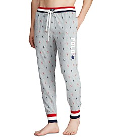 Polo Ralph Lauren Men's Star Logo Pajama Joggers, Created for Macy's