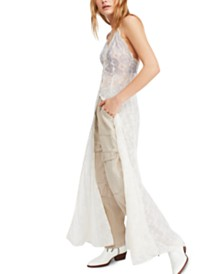 Free People Next to You Lace Maxi Dress