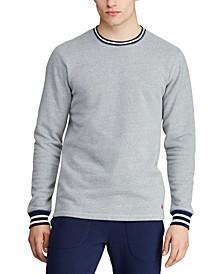 Men's Brushed Fleece Pajama Shirt