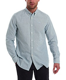 Men's Tattersall Plaid Shirt