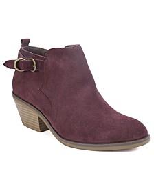 Sadie Block Heel Booties