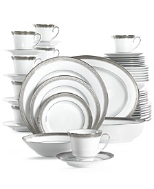 Crestwood Platinum 50-Pc. Set, Service for 8