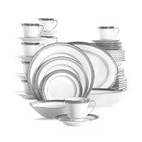 Noritake Crestwood Platinum 50-Piece Dinnerware Set (Service for 8)