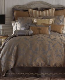 CLOSEOUT! Reversible Walton Queen 4-Pc. Comforter Set