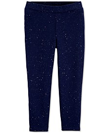Baby Girls Sparkly Pull-On Jeggings