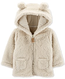 Carter's Baby Boys & Girls Faux Sherpa Hoodie