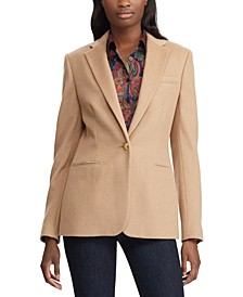 Shoulder-Pad Blazer