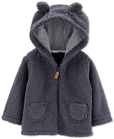 Carter's Baby Boys Faux Sherpa Hoodie