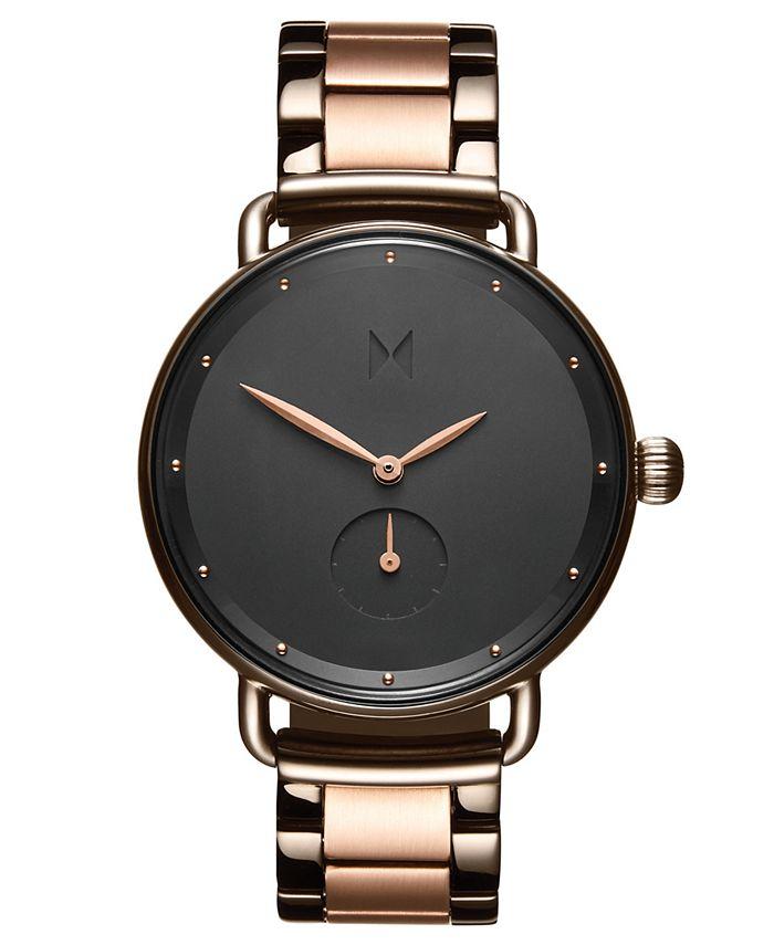 MVMT - Women's Bloom Two-Tone Stainless Steel Bracelet Watch 36mm