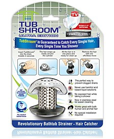 Ultra Revolutionary Bath Tub Drain Protector Hair Catcher, Strainer, Snare