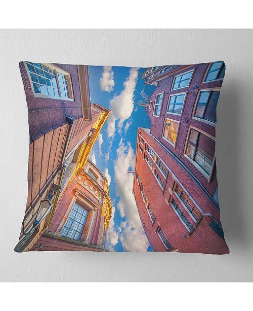 Dutch Architecture Throw Pillow