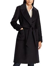 Lauren Ralph Lauren Belted Wrap Coat