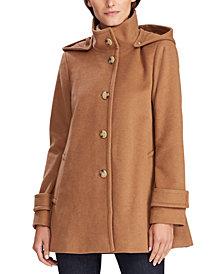 Lauren Ralph Lauren Hooded A-Line Coat