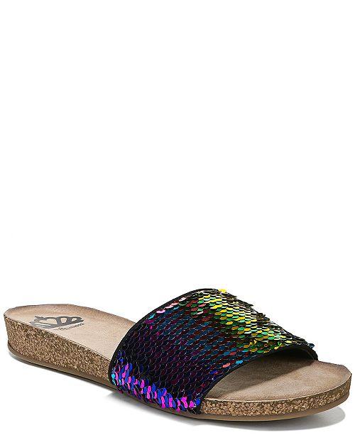Fergalicious Miranda Slide Flat Sandals
