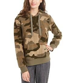 Hippie Rose Juniors' Sherpa Pullover Hoodie