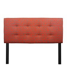 Atomic Adjustable Upholstered Headboard, Queen Size