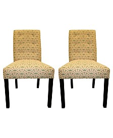 Sole Designs Bonjour Tufted Dining Chair Set, Set of 2
