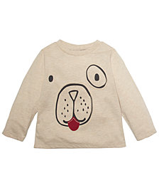 First Impressions Baby Boys Long-Sleeve Doggy T-Shirt, Created for Macy's