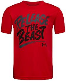 Under Armour Little Boys Beast-Print T-Shirt