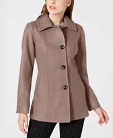 London Fog Single-Breasted Coat