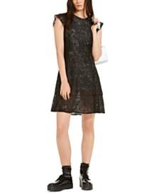 Michael Michael Kors Lace Flounce Dress