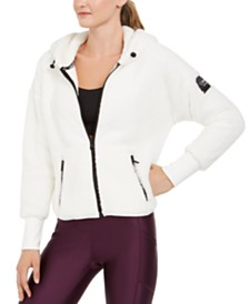 Calvin Klein Performance Drop-Shoulder Fleece Jacket