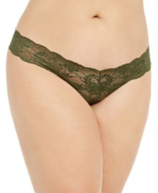 Cosabella Women's Never Say Never Lowrider Curvy Cutie Thong NEVER03XL
