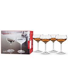8.3 Oz Perfect Coupette Glass Set of 4