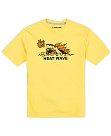 Big Boys Heat Wave-Print Cotton T-Shirt