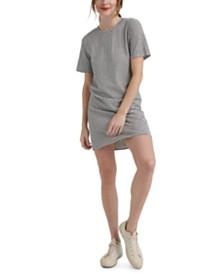 Lucky Brand Cotton Striped Pullover T-Shirt Dress