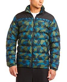 Men's Oversize Camo Puffer Coat