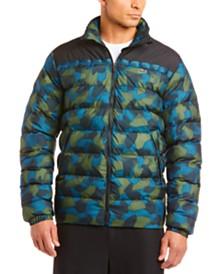 Lacoste Men's Oversize Camo Puffer Coat