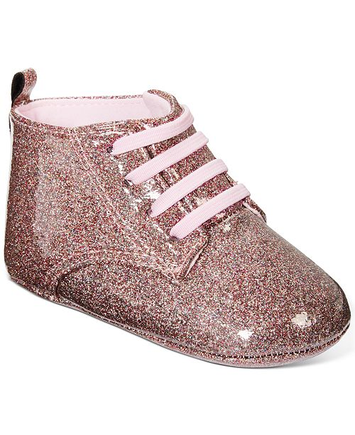 First Impressions Baby Girls Glitter Booties, Created For Macy's