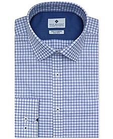 Men's Ultimate Slim-Fit Non-Iron Performance Stretch Check Dress Shirt, Created for Macy's