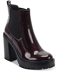 G by GUESS Starly Platform Booties