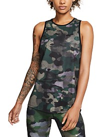 Nike Dri-FIT Camo Tank Top