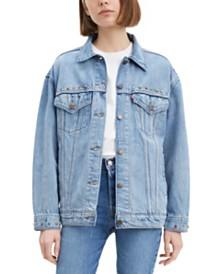 Levi's® Baggy Trucker Embellished Cotton Denim Jacket