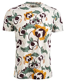 Men's Abstract Floral T-Shirt, Created for Macy's