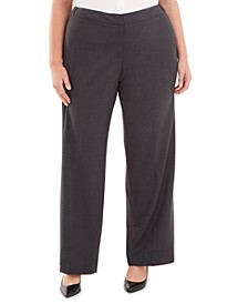 Plus Size Highline Straight-Leg Pants