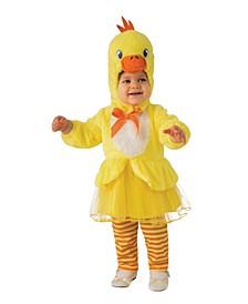 Toddler Girls Duck Tutu Deluxe Costume
