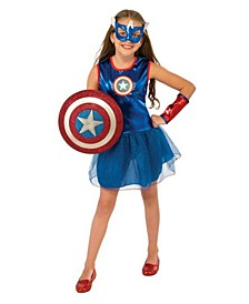 Big Girl Captain America Costume