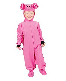 BuySeasons Little Pig Infant-Toddler Costume