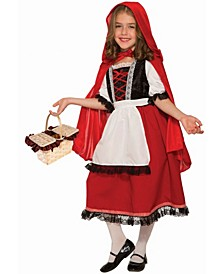 Deluxe Lil' Riding Hood Teen Big Girls Costume