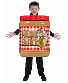 Big Boys and Girls Peanut Butter Costume