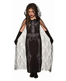 BuySeasons Girl's Graveyard Spirit Dress Child Costume