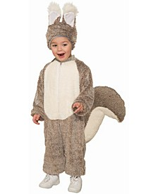 Big Girls and Boys Squirrel Costume