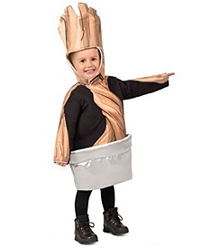 Little and Big Boy's Guardians Of the Galaxy Potted Groot Child Costume