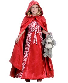 BuySeasons Little and Big Girl's Princess Riding Hood Child Costume