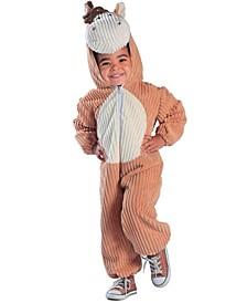 Big Boys and Girls Corduroy Horse Costume